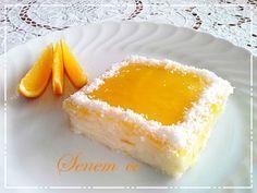 Portakal Soslu İrmik Tatlısı | SENEM 'CE