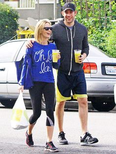 Emily Blunt and husband John Krasinski fueled up with a food run to Beverly Hills eatery Lemonade on Dec. 13.