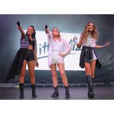 """Little Mix Updates on Instagram: """"Little Mix performing at Thorpe Park yesterday // July 17th"""""""