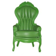 Check out this item at One Kings Lane! Lark Armchair, Green