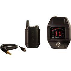 Shure GLX-D16 Wireless System with GLX-D6 Wireless Guitar Pedal