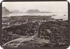 Bodø i Nordland fylke m/Turisthytten. Utg Mittet  St Bodø-1960