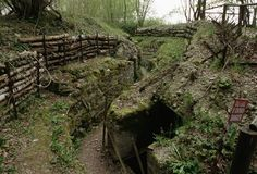 Here is where the battle of Somme took place, in France. I would like to see these trenches that were created during the first world war.