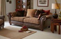 Perez 4 Seater Pillow Back Sectional Sofa Alaska Astrix