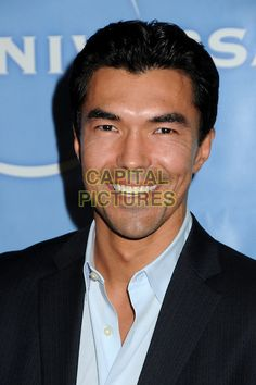 IAN ANTHONY DALE.NBC Universal Press Tour All-Star Party held at the Langham Huntington Hotel and Spa, Pasadena, California, USA, 13th January 2011..headshot portrait black blue smiling.CAP/ADM/BP.©Byron Purvis/AdMedia/Capital Pictures.