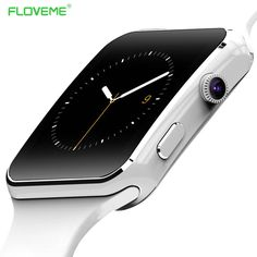 349d3e9db2f4b FLOVEME E6 Smart Watch On Wrist Bluetooth Smartwatch For Android For  Samsung Huawei Sony Xiaomi Sim TF Card Sleep Tracker Adult-in Smart Watches  from ...