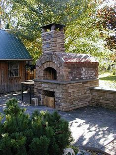 Pizza oven will increase value of a real estate.