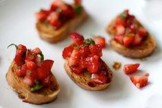 Strawberry and Serrano Pepper Salsa
