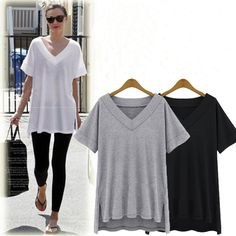 9d623b05530f77 Aliexpress.com : Buy Plus Size V Neck Women's Top Fit in Well Every Style  Street Summer Fashion for Cute Fleshy Girl from Reliable summer urban  fashion ...