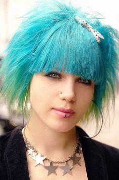 I wouldn't dye my hair weird colors again (i had my fun) but I love it. Super cute.