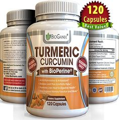 Turmeric Curcumin Extract Supplement with BioPerine 1000mg (120 Capsules) Best Anti-Inflammatory Pills to Relieve Pain (Supreme Ground Root Powder Has Super Health Benefits & No Side Effects) - http://alternative-health.kindle-free-books.com/turmeric-curcumin-extract-supplement-with-bioperine-1000mg-120-capsules-best-anti-inflammatory-pills-to-relieve-pain-supreme-ground-root-powder-has-super-health-benefits-no-side-effects/