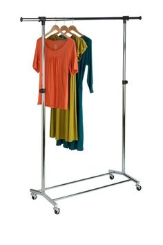 Commercial Chrome Garment Rack by 40 Essentials To Organize Your Space on @HauteLook