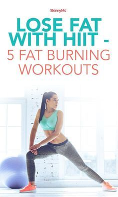 Lose Fat with HIIT  5 Fat-Burning Workouts!