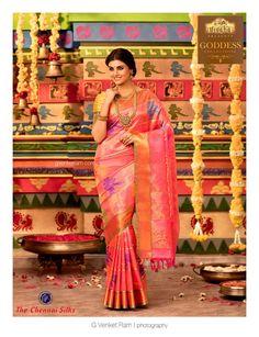 G Venket Ram | Photography | Advertising | Chennai Silks | Silk Saree | Bridal | Bridal Jewellery