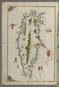 File:Piri Reis - Map of the Island of Crete - Walters W658352A - Full Page.jpg - Wikimedia Commons