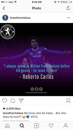 Willian is a blue forever😁