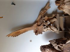 indonesian handicrafts eagle statue