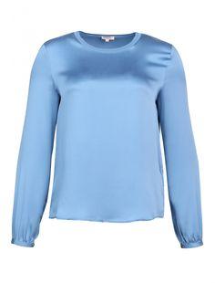 Шелковая блузка P.A.R.O.S.H. в интернет-магазине Bosco. Подписывайтесь на наши обзоры скидок вконтакте или заходите на наш сайт (русская версия). #fashion #fashionscout365 #parosh #блузка #blue #blau #голубой #небесноголубой #шоппинг #шоппингмосква #скидки #распродажа #горячеепредложение #bosco