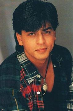 Shah Rukh Khan - that hair kills me!! He's still so  beautiful!!