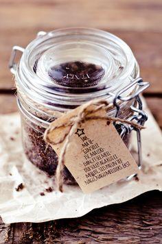 Home-made lavender and coffee scrub (by Tassike.ee - Marju Randmer)♥
