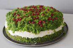 Moje Menu: Idelane ciasto na Wielkanoc - Leśne Runo / Leśny Mech i 3 pomysły na masy