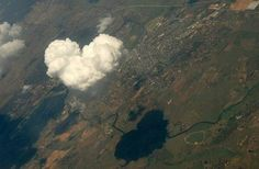 Heart Shaped Cloud...:)