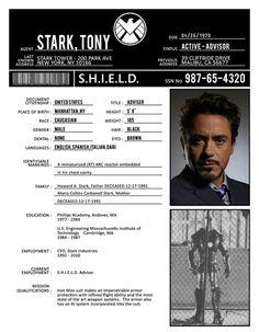 Stark, Tony