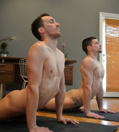 Nude Yoga For Men 48