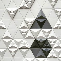 'Tre' @clerkenwelldesignweek by @nextship Navigator Levi Fignar.The installation is located at Icon House of Cultureknown also as Fabricthey are among us #tre #concretetiles #concretedesign #tiles #featurewall #backsplash #contemporarytiles #surfacedesign #surfacepattern #tileaddiction #tileporn #ihavethisthingswithwalls by kazaconcrete