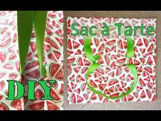 Comment fabriquer un sac à tarte ? - Tuto DIY Accessoires - YouTube Blog Couture, Videos, Diy And Crafts, Sewing Projects, Make It Yourself, Knitting, Creative, How To Make, Gifts