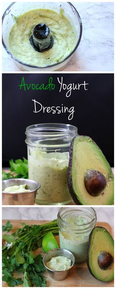 This healthy, creamy avocado dressing recipe is perfect on tacos, a salad, or with your favorite raw veggies! The jalapenos give it some spice and the Greek yogurt makes it thick and creamy!
