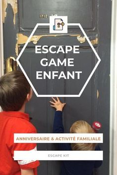 Escape Game pour enfant, idéal pour un anniversaire. Activité manuelle DIY. Cycle 3, Cycle de consolidation, à l'école élémentaire puis au collège : Cours Moyen première année (C.M.1 / 9 ans) Cours Moyen deuxième année (C.M.2 / 10 ans) Classe de Sixième (6e / 11 ans) Games For Kids, Diy For Kids, Activities For Kids, Crafts For Kids, Kids Class, Diy Games, Escape Room, Kids Corner, Happy Baby