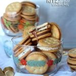 Candy Stuffed Ritz Sandwiches