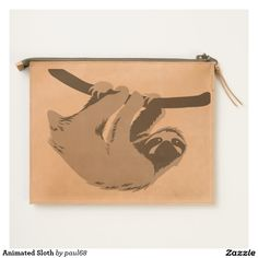 Animated Sloth Clutch