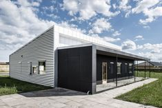 Upcycle House by Lendager Arkitekter, Built from two 40 foot shipping containers, it is located in Nyborg, Denmark