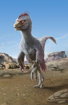 Velociraptor mongoliensis by Fabrizio De Rossi on DeviantArt