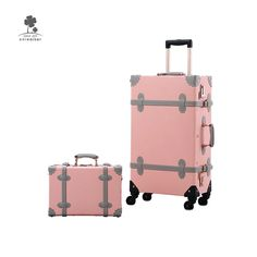 School Trunk Business Travelling Luggage 20 Scooter Suitcase Ride-on Travel Trolley Case Azure