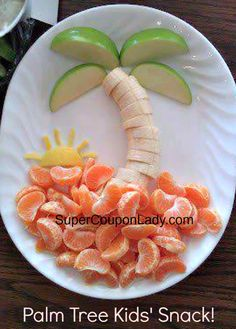 Palm Tree Kids Snack!