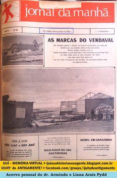 IJUÍ - RS - Memória Virtual: Forte vendaval que assolou o RS atingiu o municípi...