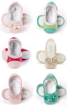 Baby Bloch shoes. Love!