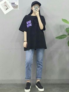 Korean Fashion Trends you can Steal – Designer Fashion Tips Korean Girl Fashion, Korean Fashion Trends, Ulzzang Fashion, Korean Street Fashion, Korea Fashion, Asian Fashion, Tween Fashion, Boyish Outfits, Cool Outfits