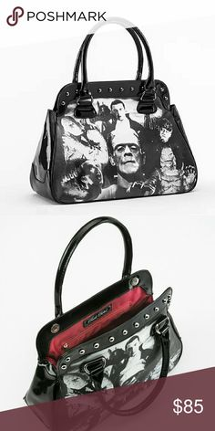 HOST PICK *Discontinued* Rock rebel purse All black. Used 3 times as a over night bag. No flaws paid 85 including shipping off the site. Price marked higher d to u can only get it with purple siding and that one is very limited. Will not accept lowball offers Rock Rebel Bags