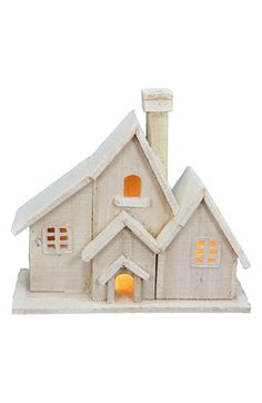 FANTASTIC CRAFT Lighted Church Birdhouse available at #Nordstrom