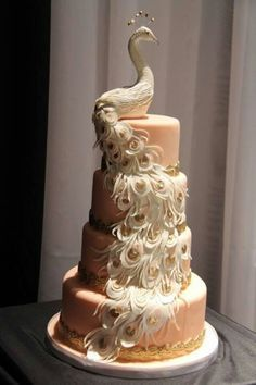 #Peacock #Cake