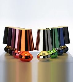 cindy lamps by Kartell