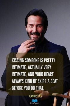 22 Keanu Reeves Quotes about Life and ♥️ Winspira keanuwisdom lovequotes quotations celebritiesquotes is part of Keanu reeves quotes -