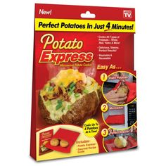Potato Express Microwave Potato Cooker (Single Cooker) Discount - http://mydailypromo.com/potato-express-microwave-potato-cooker-single-cooker-discount.html