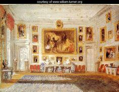 Petworth: the Drawing room - Joseph Mallord William Turner - www.william-turner.org