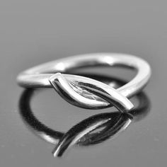 knot ring hug and kiss ring his and hers ring by JubileJewel
