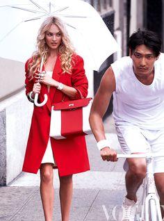 produccion Vogue Mexico septiembre 2013 portada Candice Swanepoel
